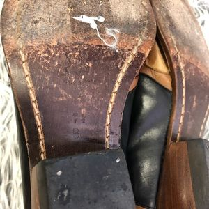 Guess Shoes - Vintage GUESS Two Toned Leather Western Booties